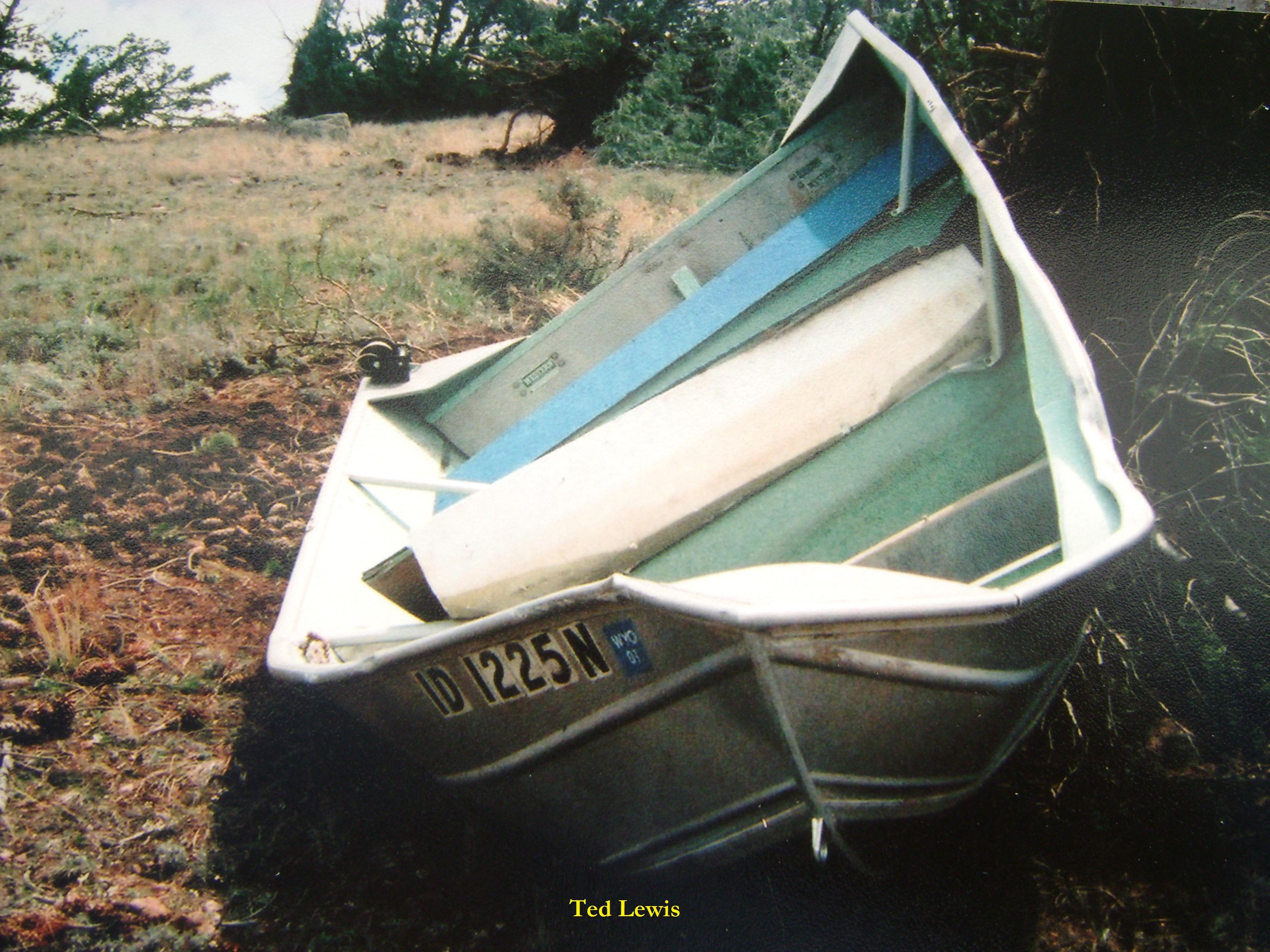 14 Ft. Aluminum Jon Boat